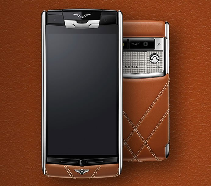 Vertu For Bentley Limited Edition Luxury Smartphone