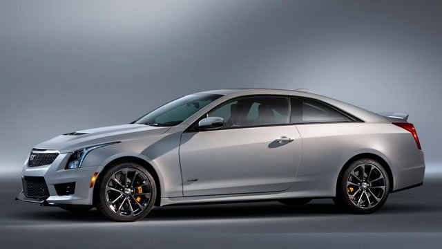 Cadillac Ats V Coupe >> 2016 Cadillac ATS-V Coupe and Sedan officially unveiled