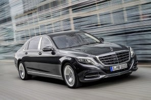 Drum roll please! The oligarch special Mercedes-Maybach S600 is here
