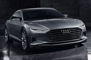 Audi Prologue Concept is a two-door flagship developed to rival the Mercedes S-Class Coupe