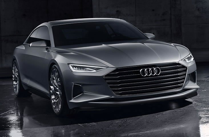 Audi Prologue Concept is a two-door flagship developed to rival the Mercedes S-Class Coupe : Luxurylaunches