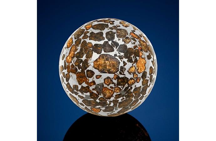 A Seymchan Meteorite Sphere