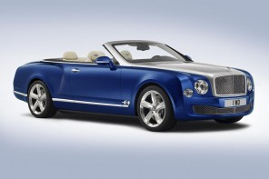 Bentley Grand Convertible concept is the automaker's most luxurious open-top car