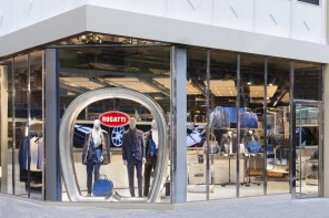 Bugatti paints London blue with its first Lifestyle Boutique