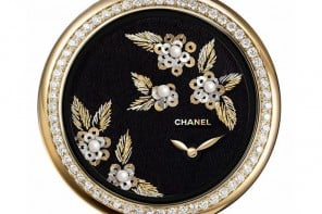 Chanel introduces new embroidered Mademoiselle Prive Camelia watches for women