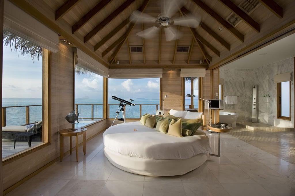 Top 9 most exquisite overwater villas in the world page for Conrad rangali maldivas