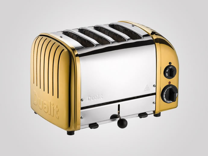 Dualit S Gold Plated Toaster Will Set You Back By A