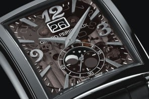 Girard-Perregaux Vintage 1945 Large Date Moon-Phases merges horology with kinetic art