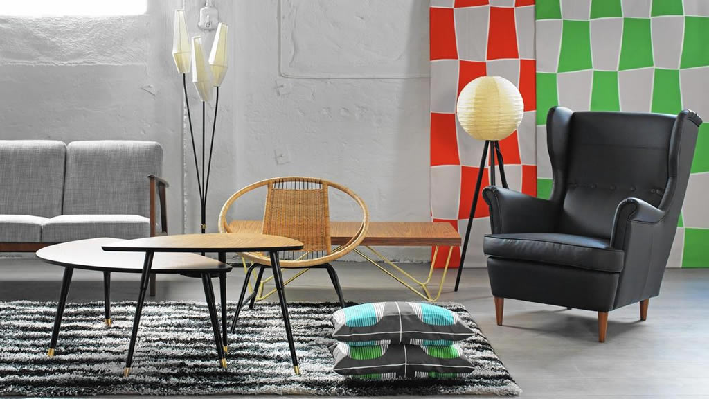 ikea reintroduces retro furniture in limited edition argang collection. Black Bedroom Furniture Sets. Home Design Ideas