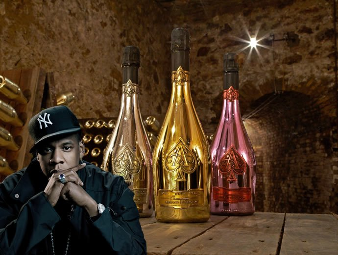 Jay Z is now the proud owner of the Armand de Brignac Champagne brand : Luxurylaunches