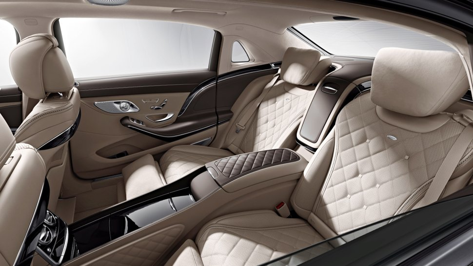 2015 Mercedes Maybach S600 Interior Teased