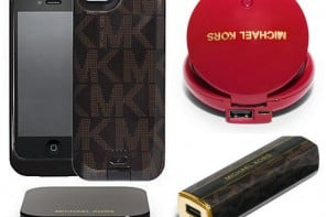 Michael Kors collaborates with Duracell over a range of high-tech accessories