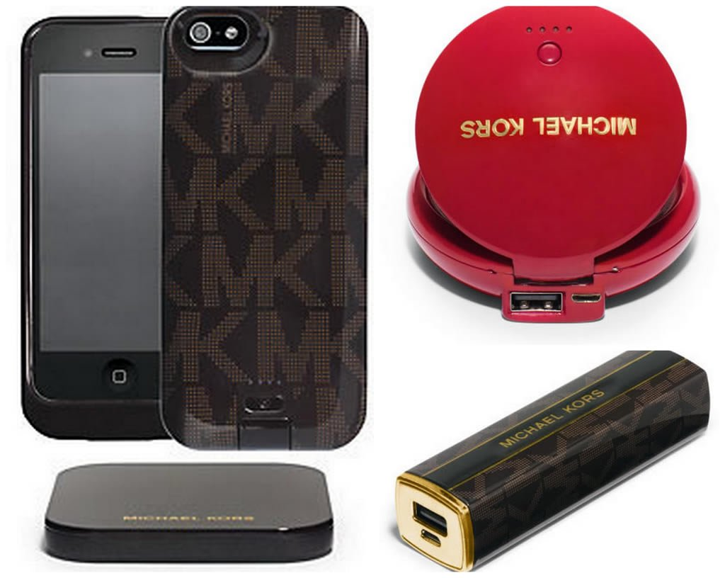 753108e923f96 Michael Kors collaborates with Duracell over a range of high-tech  accessories
