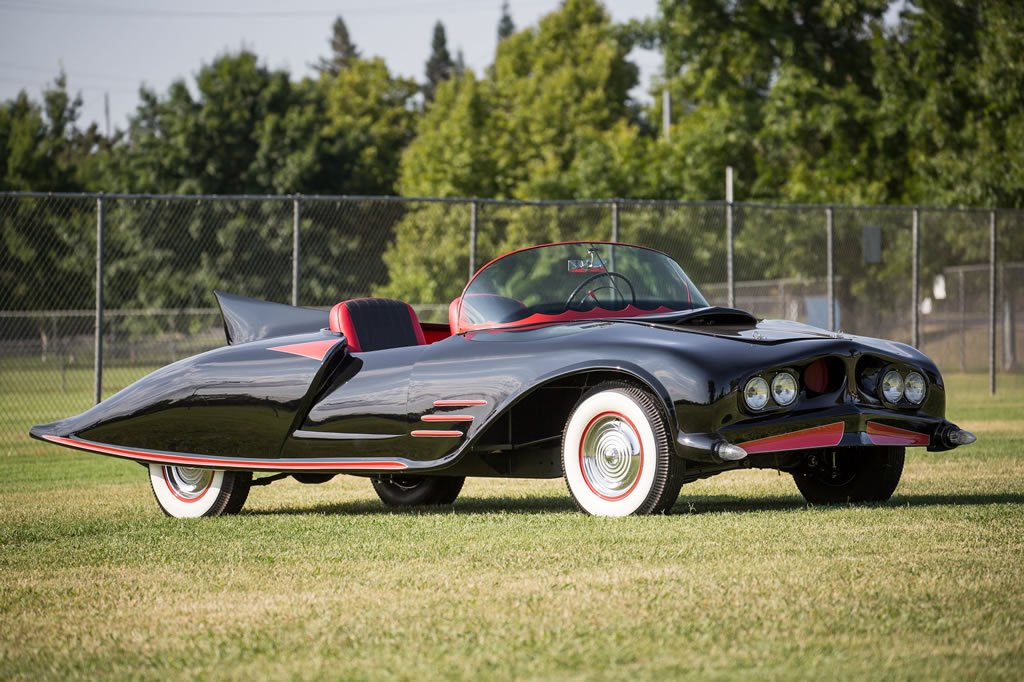 The first official Batmobile ever built is up for auction -