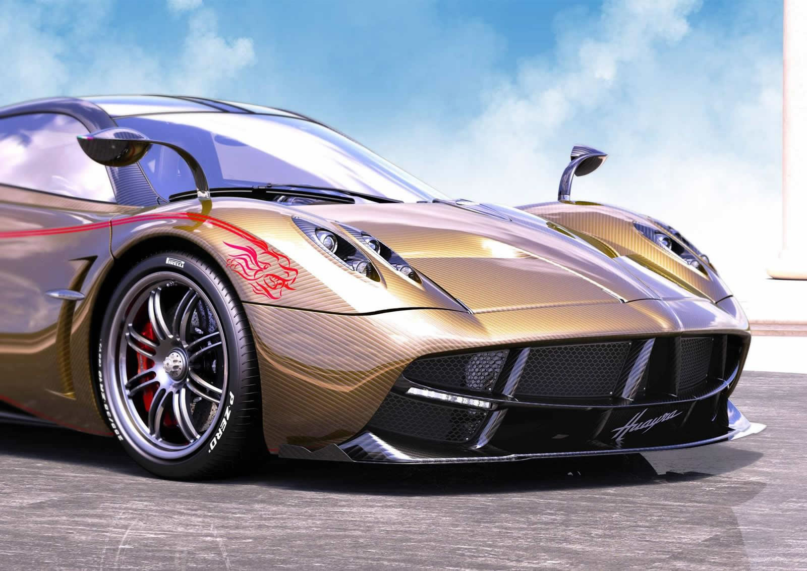 A limited edition Pagani Huayra Dinastia created exclusively for China : Luxurylaunches
