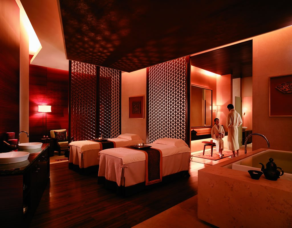 Pudong shangri la review for Salon zen casablanca