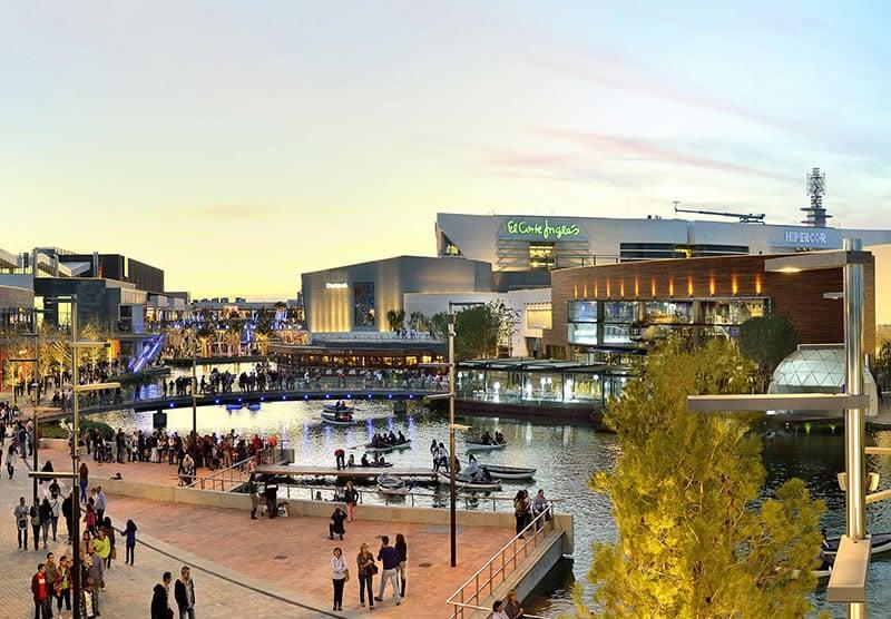 10 biggest malls in europe for Luxury hotel zaragoza