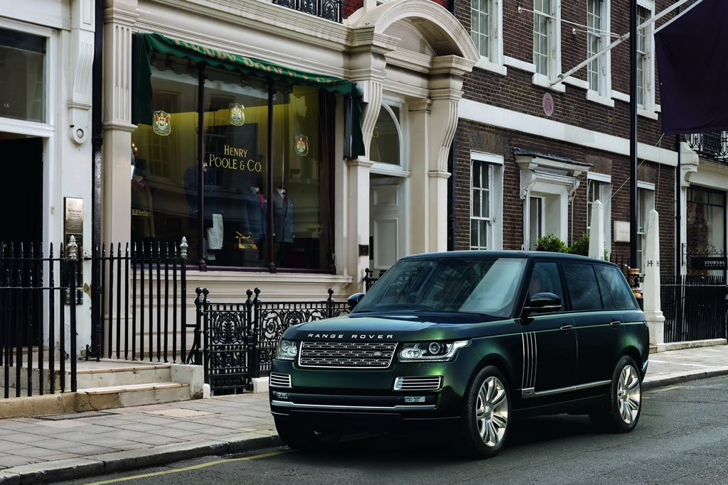 2015 Range Rover Holland & Holland Edition is the most expensive SUV ever produced in the automaker's history -