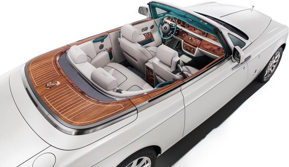 Bespoke Rolls Royce Maharaja Phantom Drophead Coupe pays tribute to the golden age of Indian royals -
