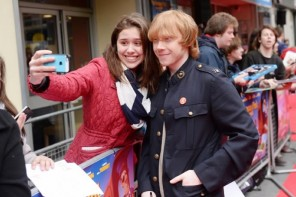 At $2,000, a fan's click with Rupert Grint may be the world's most expensive selfie ever