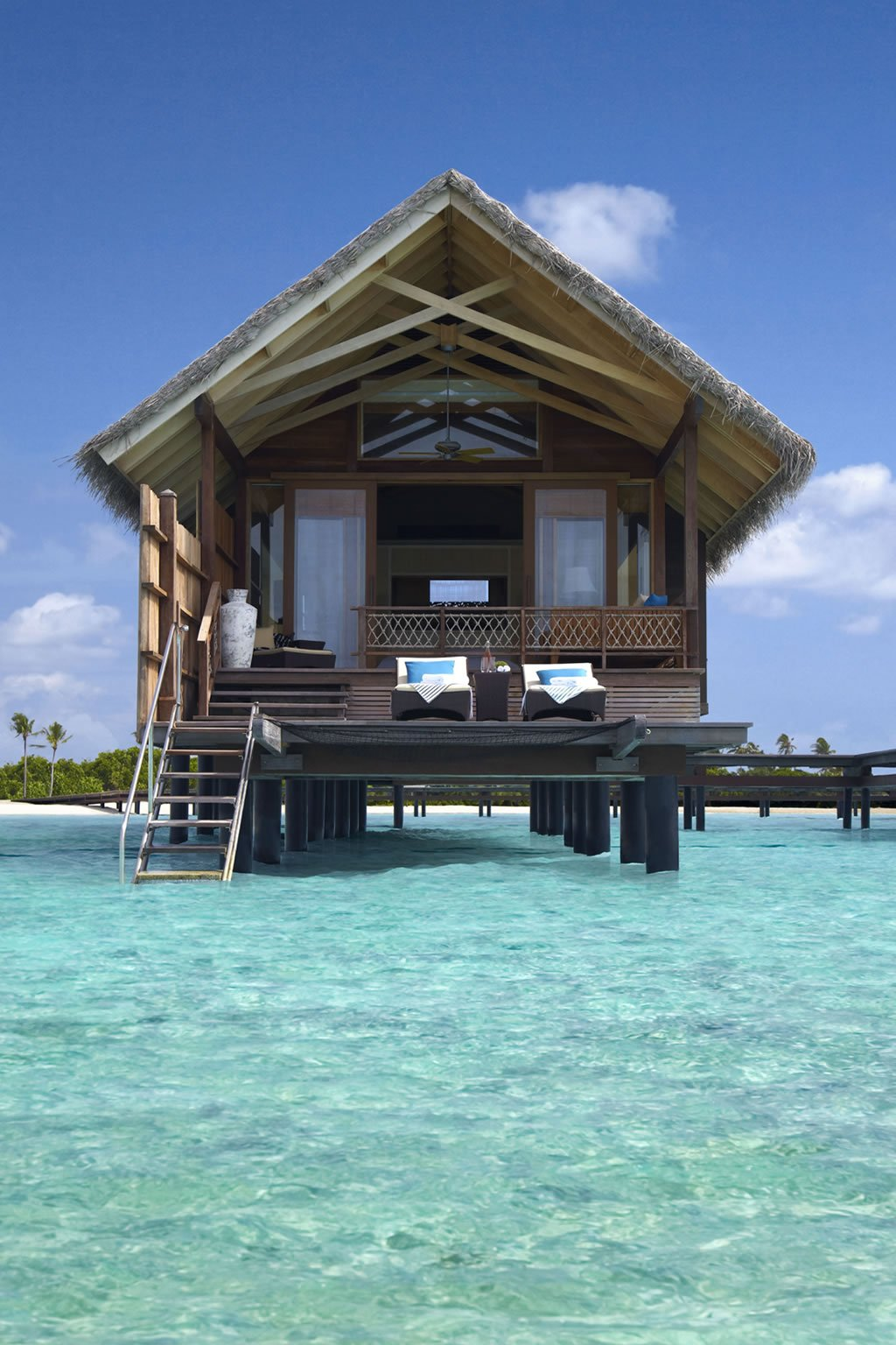 Beach House With Transitional Interiors: Top 9 Most Exquisite Overwater Villas In The World
