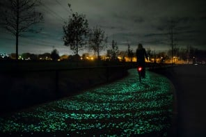 A Van Gogh inspired cycle path opens in the Netherlands