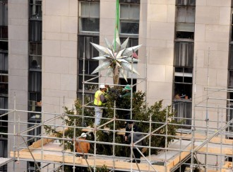 Swarovski Star Rockefeller Christmas tree