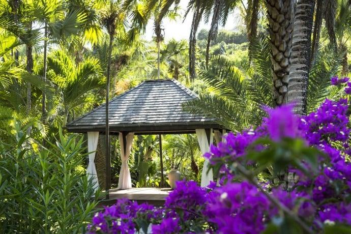 Spa Pavilion In The Garden