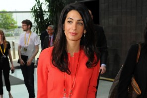 Amal Clooney gets a Ballin handbag named after her
