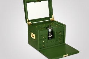 Anya Hindmarch's limited edition vanity case for La Mer will set you back by over $3,000!