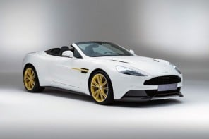 Aston Martin Works 60th anniversary limited edition Vanquish gets knobs made from classic Aston Martins