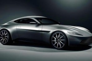 Aston Martin crafts the DB10 specially for the next James Bond film, Spectre