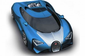 Bugatti Chiron the Veyron's successor to pack 1500 electronically charged horses and hit 288mph