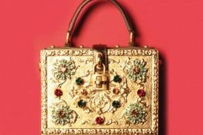 Dolce & Gabbana's fairy tale gold hand bag