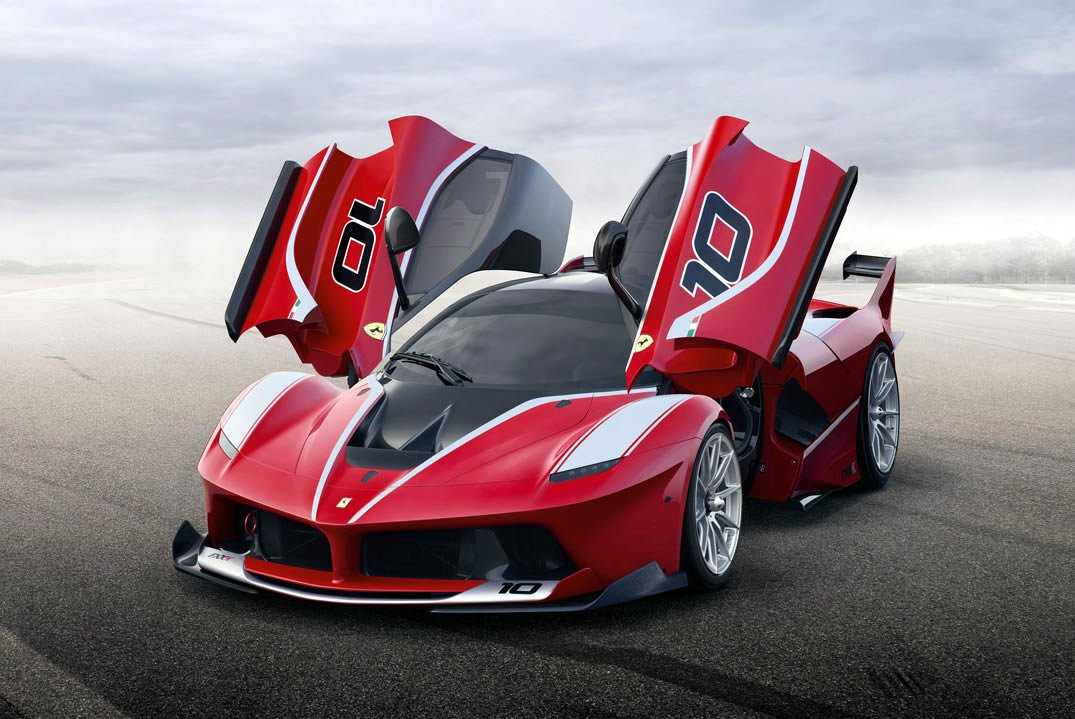 Ferrari unveils its most extreme car yet, the 1,035 hp FXX K -