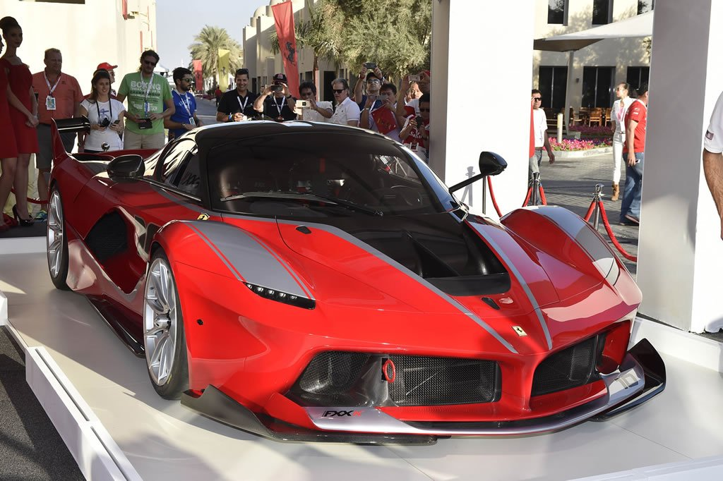 Ferrari Unveils Its Most Extreme Car Yet The 1 035 Hp Fxx K
