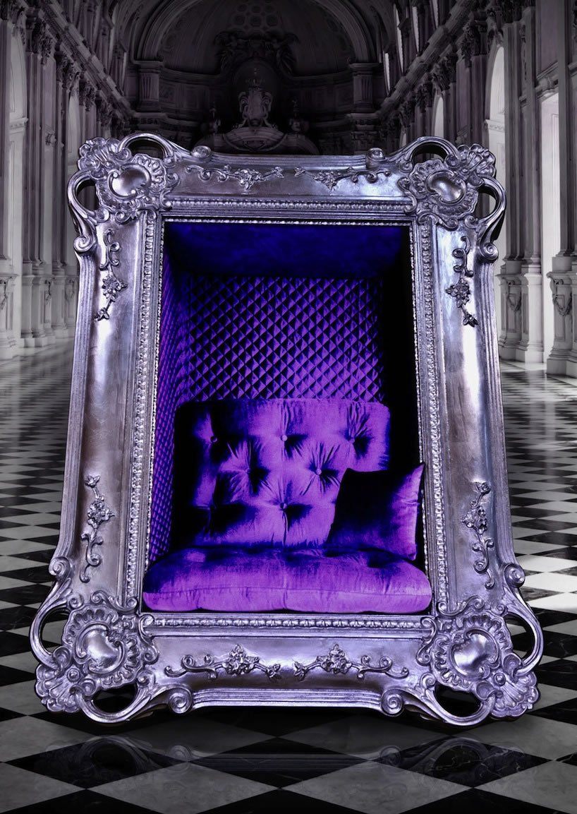 Uniquely Extravagant Frame Chair Designed For Memories Yet