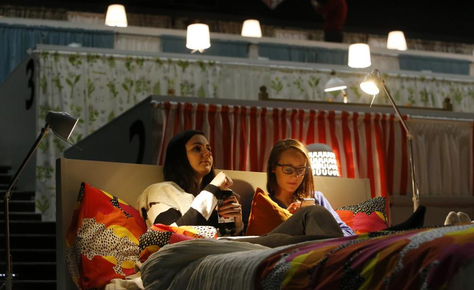 Ikea Transforms A Moscow Movie Theatre Into A Cozy Bed