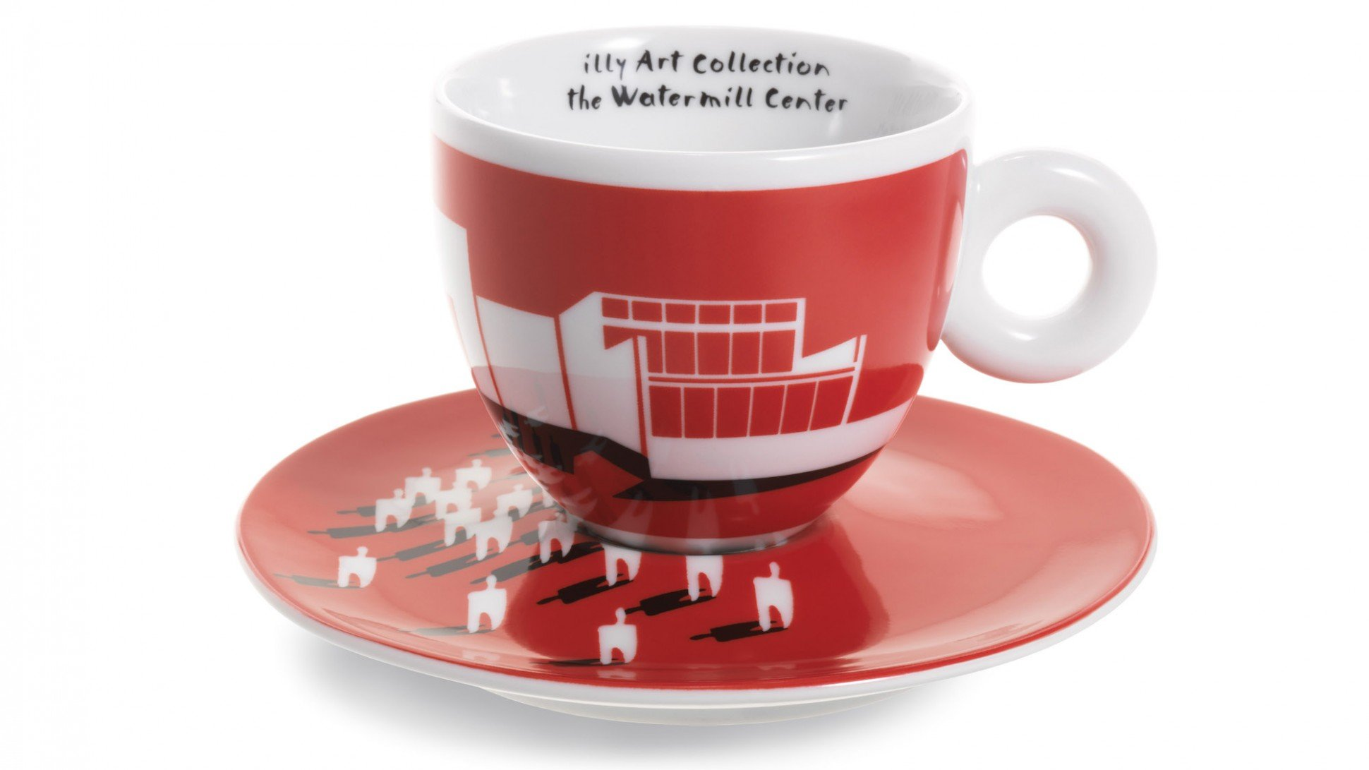 Artist Robert Wilson Creates Cups And Saucers For A