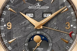 Jaeger-LeCoultre Master Calendar with a Meteorite stone dial is out of this world