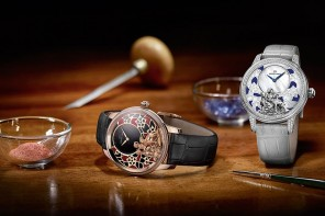 Jaquet Droz creates two new Ateliers d'Art models to celebrate the year of the Goat