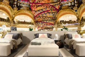 You can actually stay for a night at the iconic Galeries Lafayette thanks to Airbnb