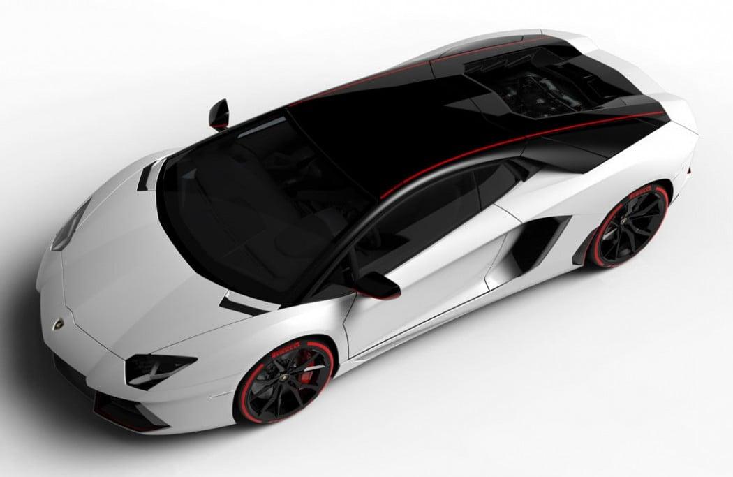 Lamborghini Aventador LP 700 4 Pirelli Edition With Two Tone Color Scheme  Is Droolsome