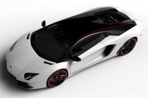 Lamborghini Aventador LP 700-4 Pirelli Edition with two-tone color scheme is droolsome