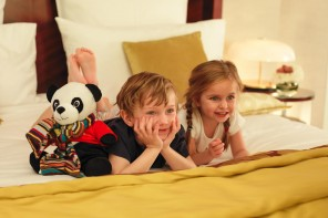 Mandarin Oriental Paris collaborates with Paul Smith over a children's sleepwear collection