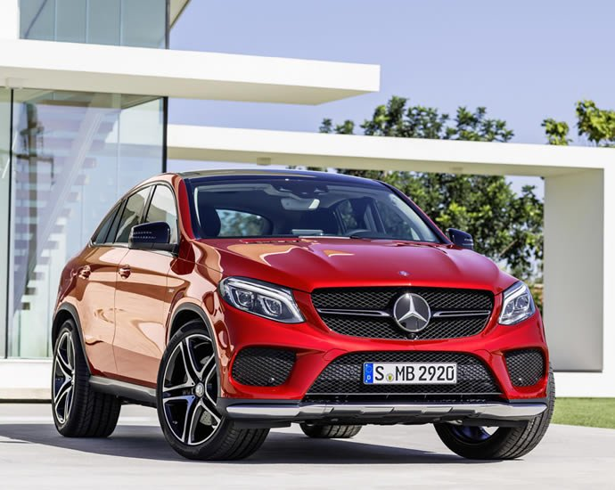 2016 mercedes benz gle 450amg 4matic coupe unveiled to lock horns with the bmw x6. Black Bedroom Furniture Sets. Home Design Ideas