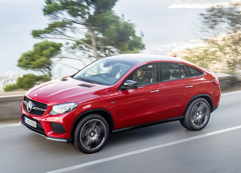 2016 Mercedes Benz Gle 450amg 4matic Coupe Unveiled To Lock Horns With The Bmw X6
