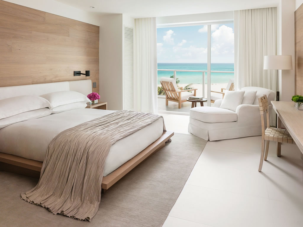 The uber stylish miami beach edition hotel is now open for Stylish hotel rooms