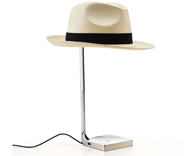 The Chapo By Philippe Starck Incorporates Hat In Furniture