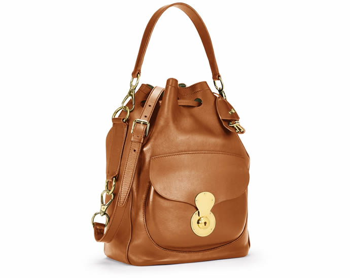 Ralph Lauren comes up with a modern and sophisticated Ricky Drawstring Bag  which is created in Italy. This is made of ultra soft nappa leather and has  a ... bb1a171f36ab7